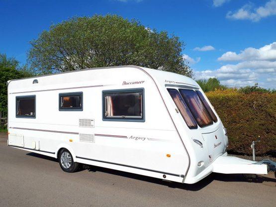 Buccaneer Argosy Fixed Bed Caravan
