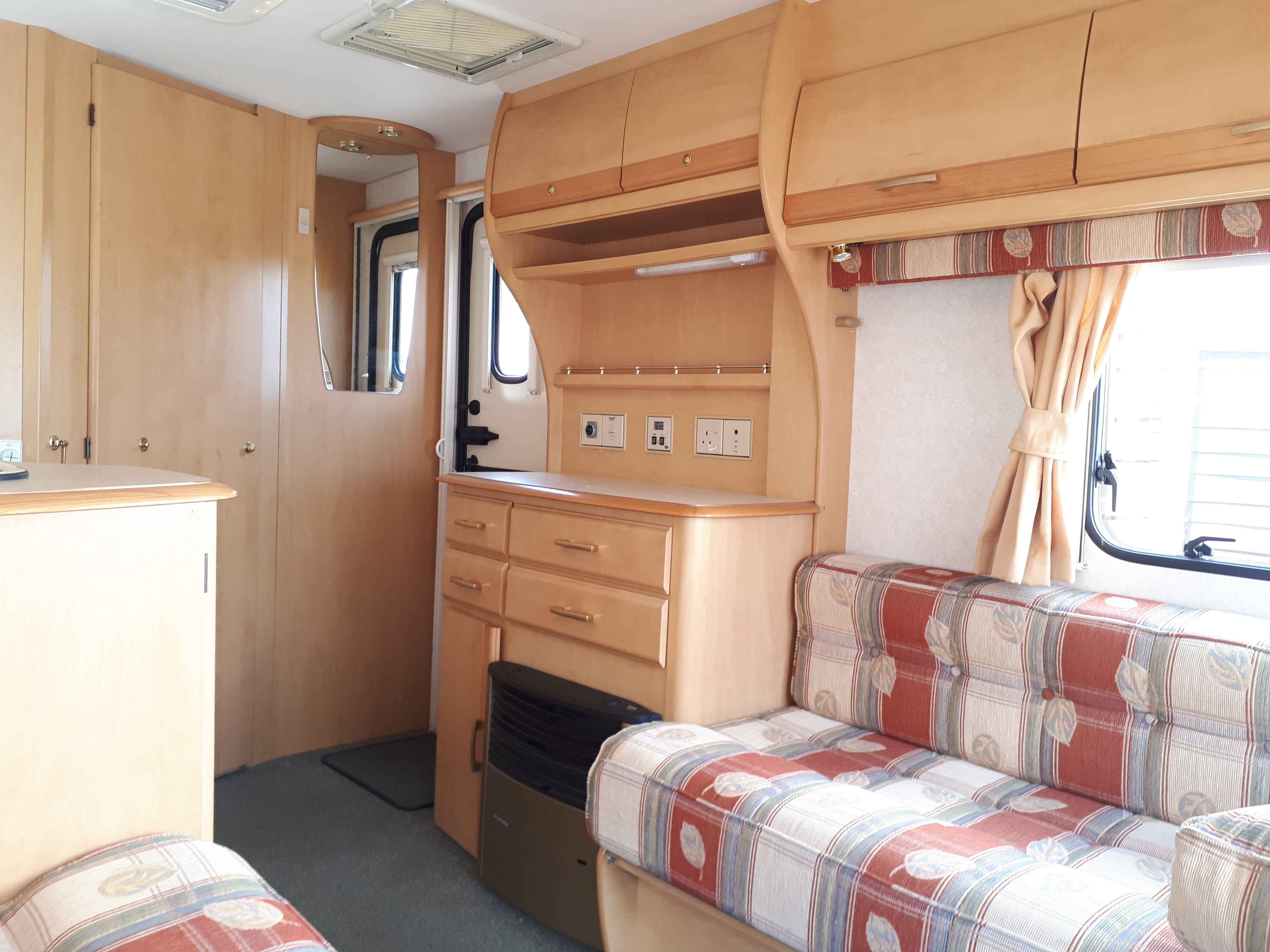 Bailey Pageant Monarch 2 Berth Caravan With Awning Samco