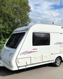 Elddis Xscape 482 2007 2 Berth Caravan