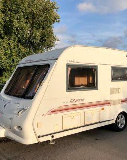 Elddis Odyssey 505 5 Berth Caravan 2003