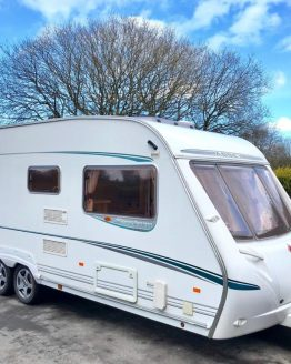 Abbey Spectrum 535 Island Bed Caravan