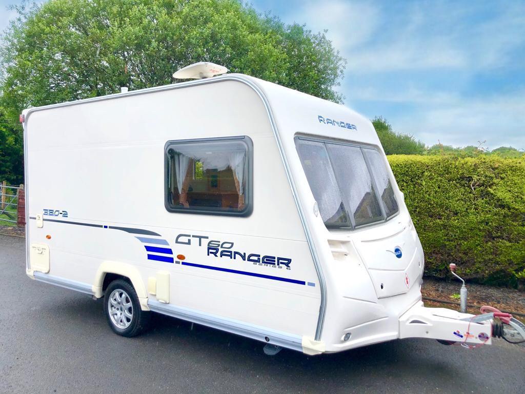 Bailey Ranger 380/2 2009 2 Berth Lightweight Caravan