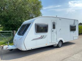 Swift Charisma 555 2009 Fixed Bed Caravan
