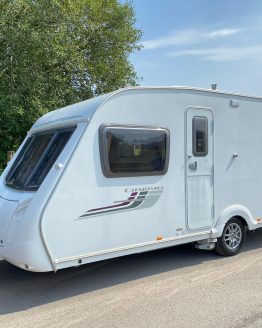 Swift Charisma 555 2009 Fixed Bed Caravan