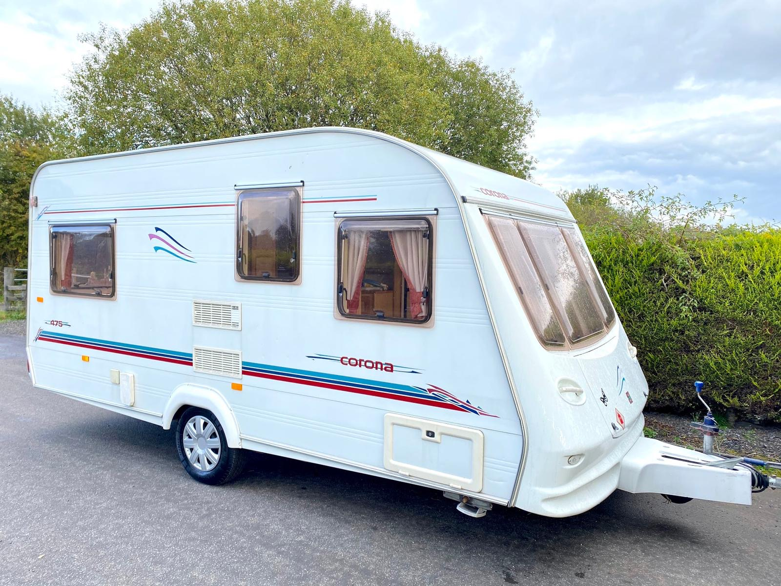 Compass Corona Lightweight 5 Berth Caravan